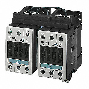 IEC Magnetic Contactor, 240VAC Coil Volts, 50 Full Load Amps-Inductive, 2NC Auxiliary Contact Form