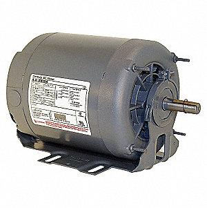 HVAC MOTOR,3-PH,1 HP,RPM 1725,TEAO