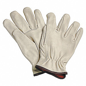 GLOVES DRIVER LINED GRAIN