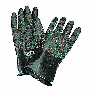 GLOVES BUTYL 13MIL 11IN SIZE 9