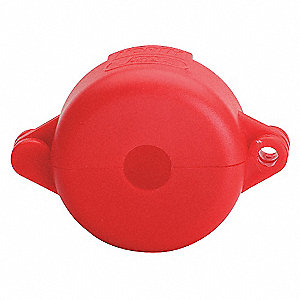 LOCKOUT BALL VALVE 1.5 - 2.5IN RED