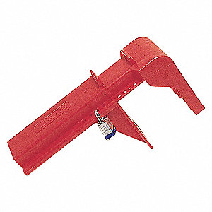 LOCKOUT BALL VALVE 2 TO 8IN RED