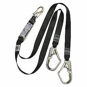 LANYARD S/A 10 FREE FALL SCAF 6FT