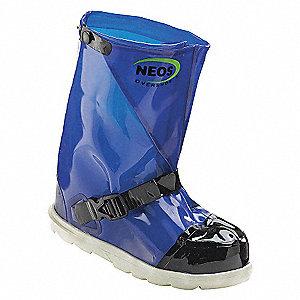 NEOS OVERBOOT 15IN STEELTOE BLUE