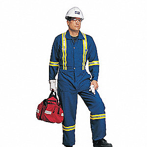 COVERALLS NOMEX ROYAL BLUE