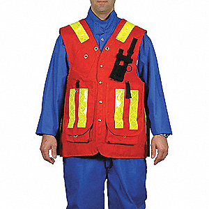 VEST SURVEYORS RED SMALL