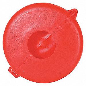 VALVE LOCK 6.5-10 RED