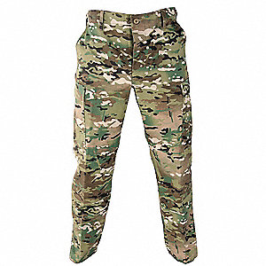 Men's Tactical Pants, Size L, Color: Multicam