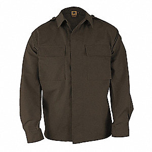 Long Sleeve Shirt, Sheriff Brown, 2XL Long