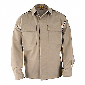Long Sleeve Shirt, Khaki, 2XL Long