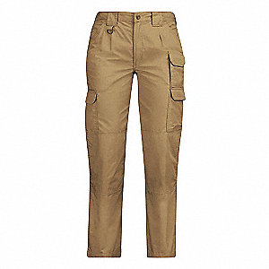 Womens Tactical Pant,Coyote,Size 22