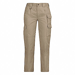 Womens Tactical Pant,Khaki,Size 16