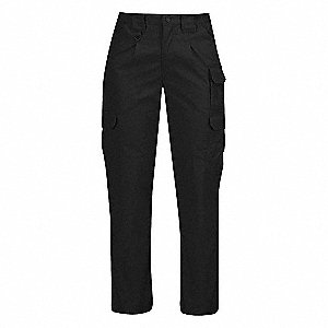 "Women's Tactical Pants. Size: 10, Fits Waist Size: 32"", Inseam: 36-1/2"", Black"