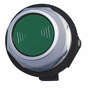 Non-Illuminated Push Button,30mm,Green