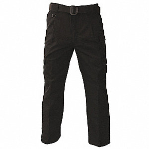 "Men's Tactical Pants, Fits Waist Size: 42"", Inseam: 30"", Black"