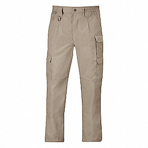 "Men's Tactical Pants, Fits Waist Size: 30"", Inseam: 32"", Khaki"