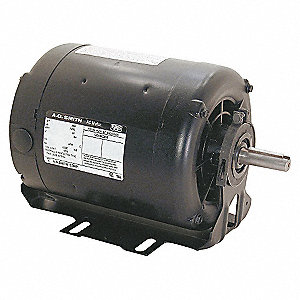BELT DRIVE MOTOR,3-PHASE,ODP,1/3 HP