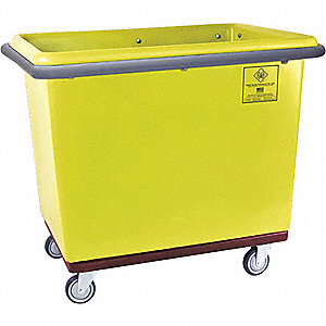 Yellow Cube Truck, 15.0 cu. ft. Capacity, 600 lb. Load Capacity