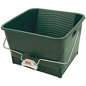 Paint Bucket, 4 gal., Polypropylene