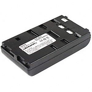 Sony Camcorder Battery, Nickel-Metal Hydride, Voltage 6, 2100mAh, 1 EA