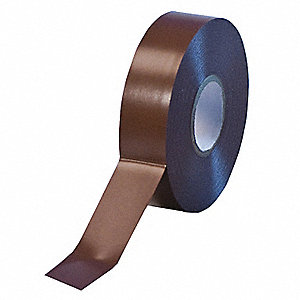 "Brown Flame Retardant Vinyl Electrical Tape, 3/4"" Width, 66 ft. Length, 7 mil Thickness"