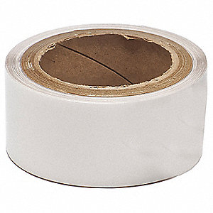 "Indoor/Outdoor Polyester Label Tape Cartridge, Clear, 2-1/2""W x 30 ft."