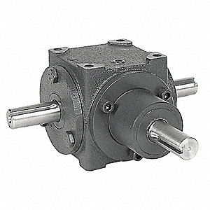 Standard Cast Iron Bevel Gear Drive, Single Output, 300 lb. Overhung Load