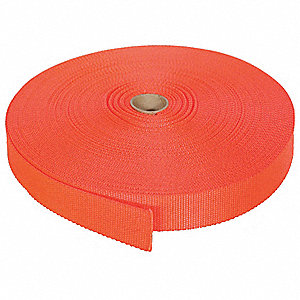 Bulk Webbing,150 ft x 1 In,3800 lb