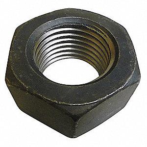 GRAINGER APPROVED 2 1 12 Hex Nut Plain Finish Grade 8 Steel Right Hand ASME B1822 EA1