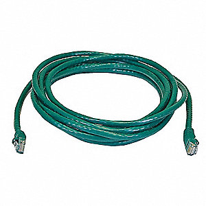 Ethernet Cable,Cat 6,Green,14 ft.