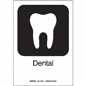 Dental, Text and Symbol, Plastic