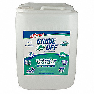 Degreaser,Bottle,Size 5 gal.