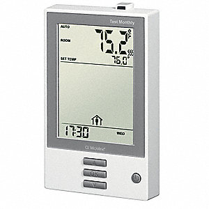 Programmable Floor Thermostat,41 to 104F
