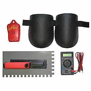 Floor Heating Installation Tool Kit, For Use With Radiant Floor Heating Systems