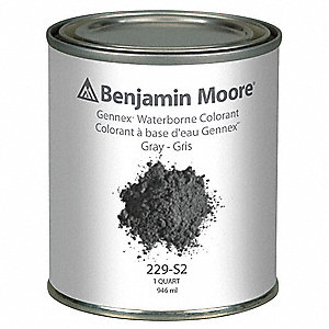 Gennex Colorant,1 qt,Gray
