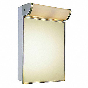 Medicine Cabinet,Surface Mount,33-5/8x16