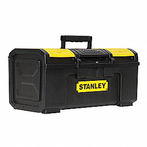 "Portable Tool Box, Plastic, 19"" Overall Width x 10-1/2"" Overall Depth"