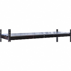 "72"" x 18"" x 84"" Steel Extra Shelf Level, Black"
