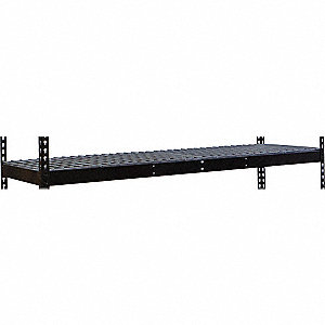 "60"" x 24"" x 84"" Steel Extra Shelf Level, Black"