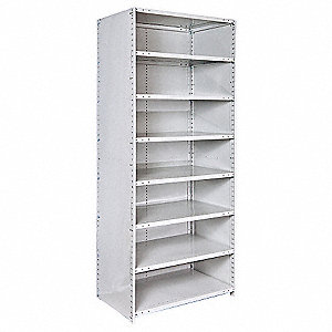 Shelving,Closed,Starter,Steel,87""
