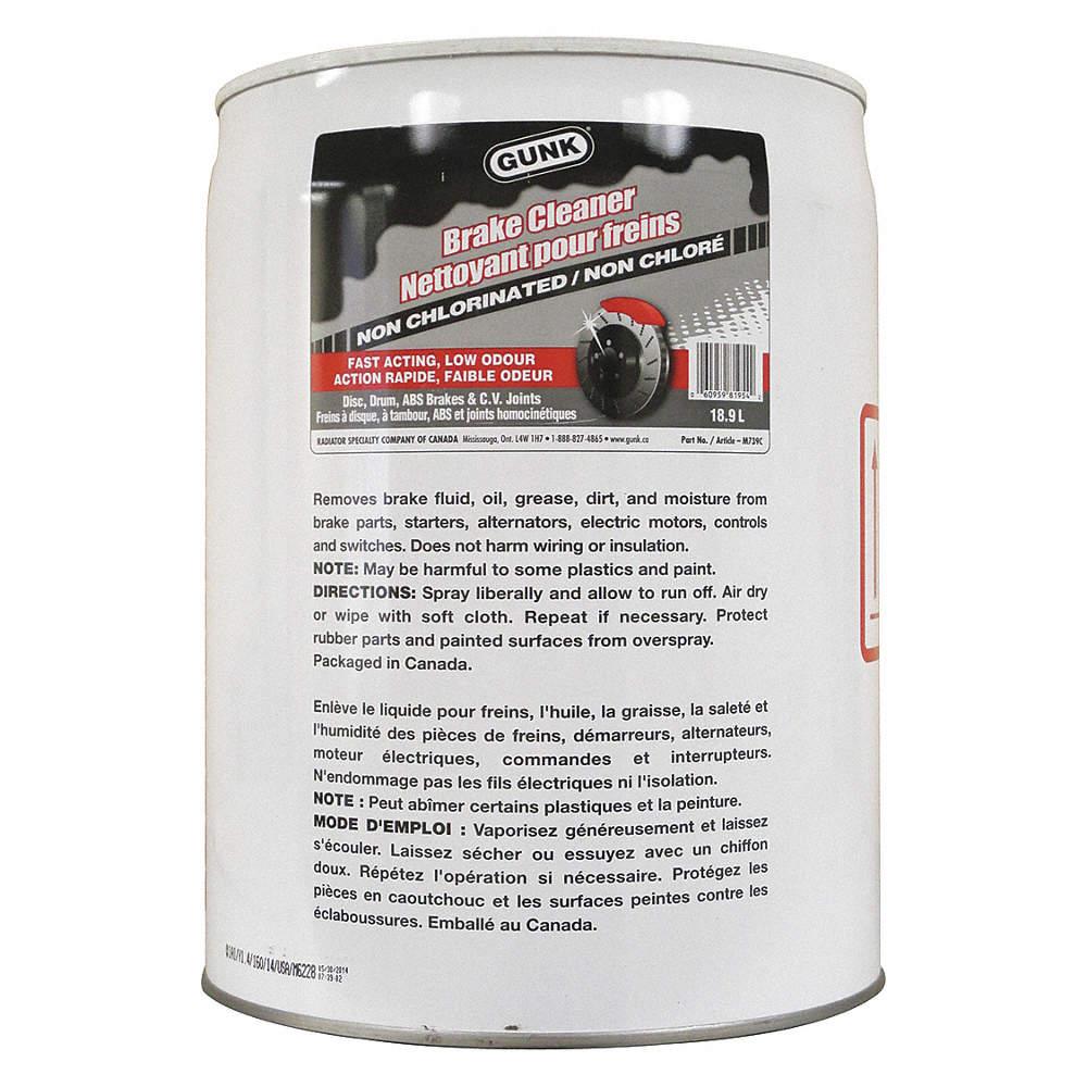 GUNK NON-CHLOR BRAKE CLEA - Interior/Exterior Cleaners