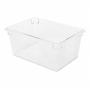 FOOD TOTE BOX,CLEAR,62.9L