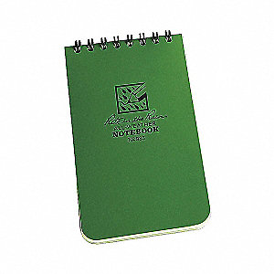 NOTEBOOK  POCKET GREEN 3X5