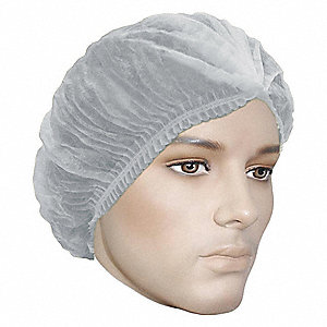 BOUFFANT CAPS, 24IN, WHITE, 250/BX