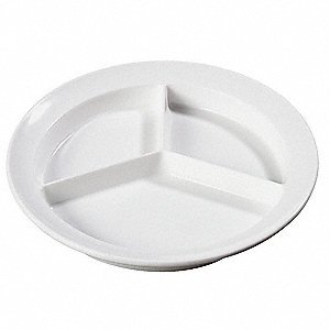 Pie Plate Plate, 8-23/32 In,Whte,PK12