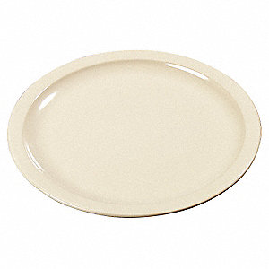 Sandwich Plate,7-7/32 In,Tan,PK48