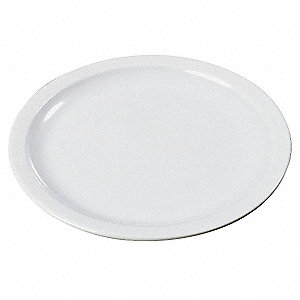 Pie Plate,6-1/2 In,White,PK48