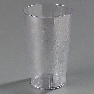 TUMBLER,STACKABLE,32 OZ.,CLEAR,PK 4