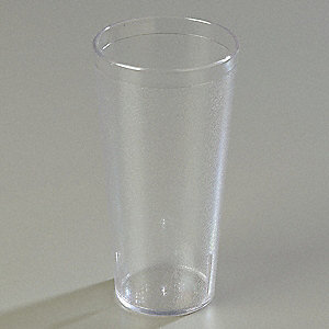 Tumbler,Stackable,24 oz.,Clear,PK72