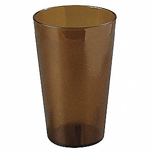 Tumbler, Stackable, 32 oz., Amber, PK48